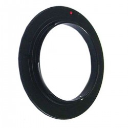 Anillo de rosca a conector macho de objetivo Nikon de 55mm
