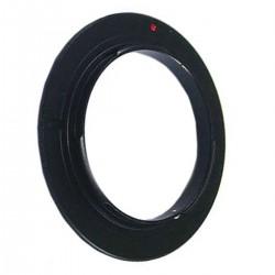 Anillo de rosca a conector macho de objetivo Canon EOS de 49mm