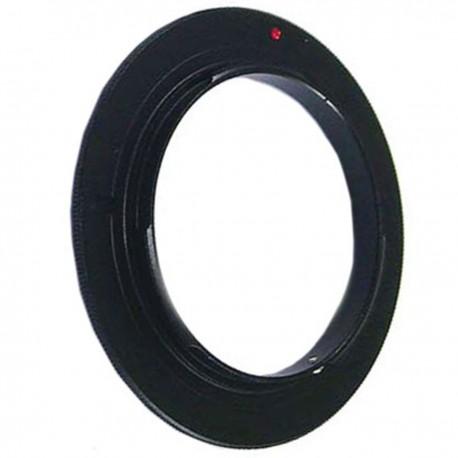 Anillo de rosca a conector macho de objetivo Canon EOS de 52mm