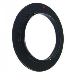Anillo de rosca a conector macho de objetivo Canon EOS de 55mm