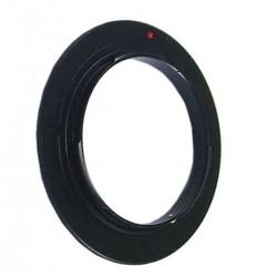Anillo de rosca a conector macho de objetivo Canon EOS de 72mm