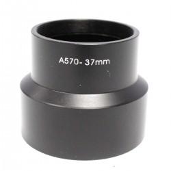 Tubo adaptador para objetivo Canon EOS A570 37mm