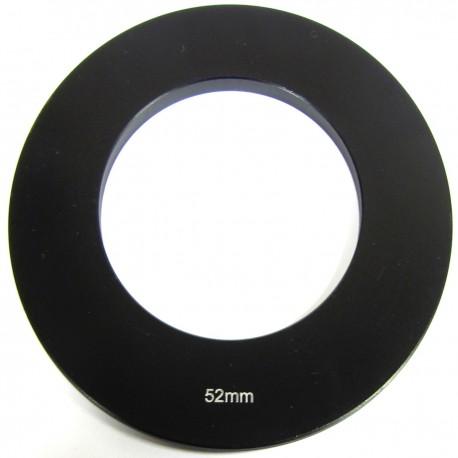 Anillo adaptador para portafiltros para lente de 52 mm