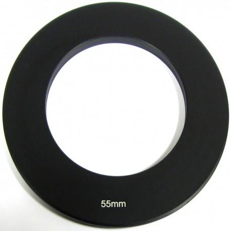 Anillo adaptador para portafiltros para lente de 55 mm