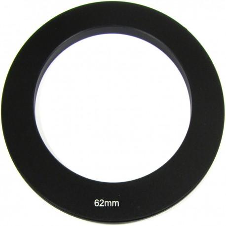 Anillo adaptador para portafiltros para lente de 62 mm