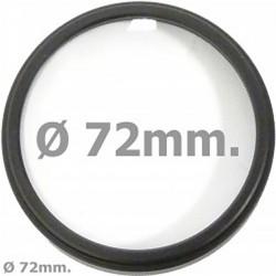 Filtro de fotografia macro +3 para objetivo de 72mm