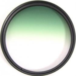 Filtro fotografia color gradual verde para objetivo de 67 mm