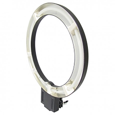 Lámpara anular de 48 cm con soporte a mástil