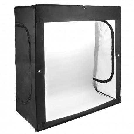 Estudio de fotografía portátil Caja de luz de 120x50x140cm 150W