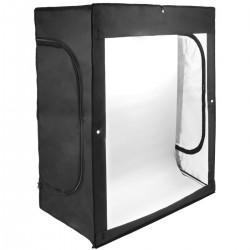 Estudio de fotografía portátil Caja de luz de 120x100x200cm 200W