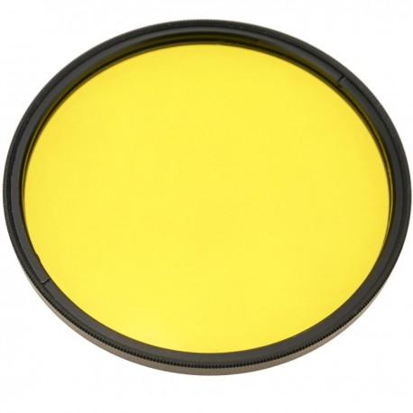 Filtro fotografia amarillo para objetivo de 72 mm