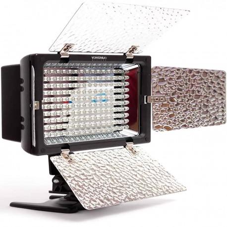 Lámpara de LEDs para cámara 1138 lumens 160LED con viseras