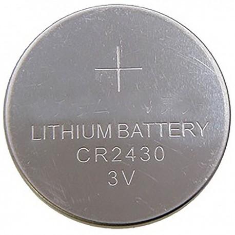 Pila litio botón 3V CR2430