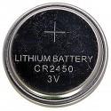 Pila litio botón 3V CR2450