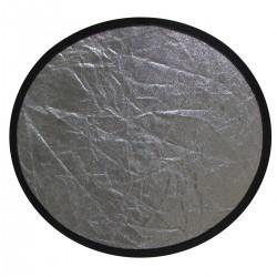 Panel reflector plateado y negro de 80cm