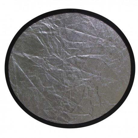 Panel reflector plateado y negro de 107cm
