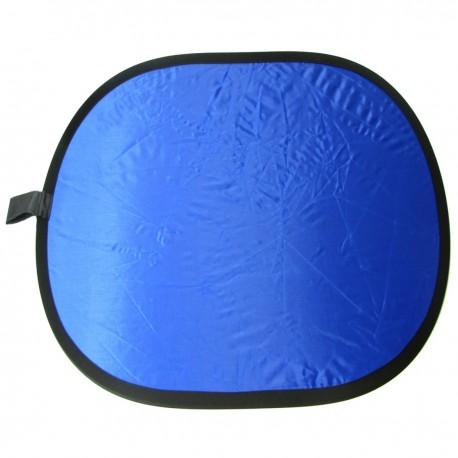 Panel reflector azul y verde de 200x150cm tela