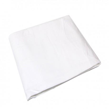 Fondo de tela de 180x300 cm de color blanco
