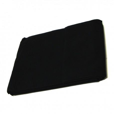 Fondo de tela de 180x300 cm de color negro