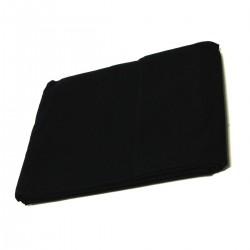 Fondo de tela de 300x300 cm de color negro