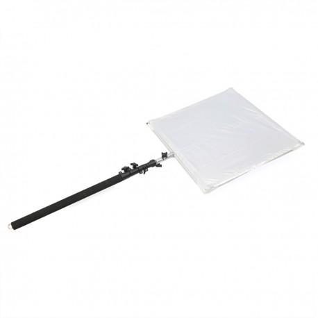 Reflector difusor para fotografía con soporte de 75x75cm