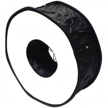 Ventana difusora circular para flash speedlite de 45cm tipo anillo