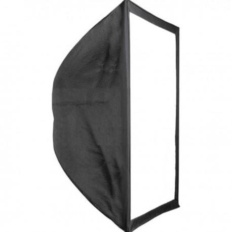 Ventana difusora de luz Softbox rectangular de 60x60 cm para estudio fotográfico