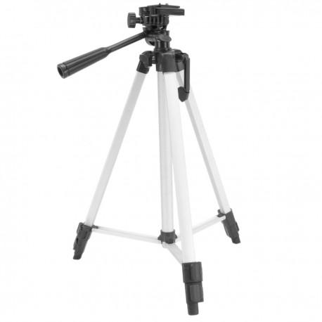 Trípode fotográfico de aluminio 500 a 1300mm gama básica