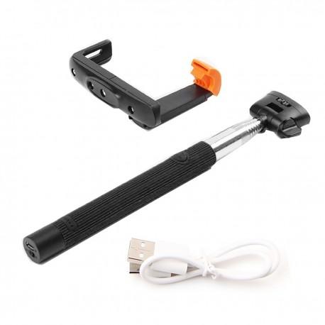 """Brazo extensible para cámara fotográfica universal y teléfono móvil 1/4"""" de 1005mm con disparador"""