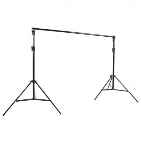 Soporte de fondos de tela para estudio de fotografía 200x200cm