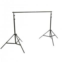 Soporte de fondos de tela para estudio de fotografía 300x300cm