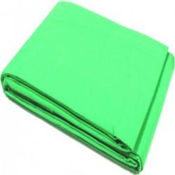 Fondo de tela de 600x300 cm de cromakey verde