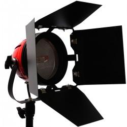 Foco de luz continua de tungsteno de 800W regulable con disipador de calor