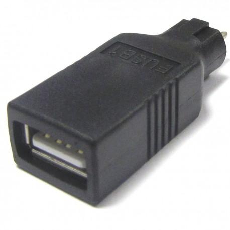 Conector USB A hembra para fuente de alimentación