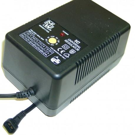 Fuente de alimentación de 1.5-12 VDC a 2000 mA