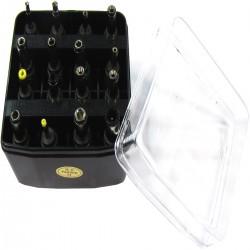 Pack de 16 conectores para fuentes de alimentación