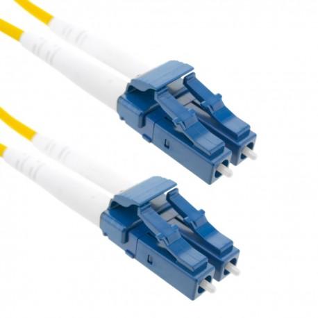 Cable de fibra óptica LC a LC monomodo duplex 9/125 de 10 m OS2