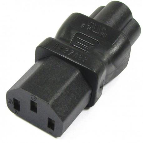 Adaptador de conector IEC-60320 C13 a C6