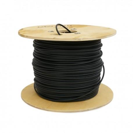 Bobina de fibra óptica 9/125 monomodo 6 fibras exterior de 1000 m OS2
