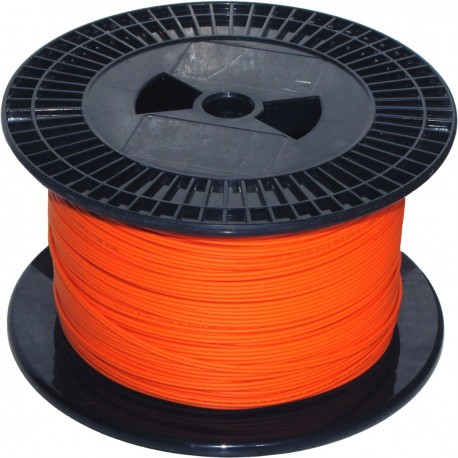 Bobina de fibra óptica 62.5/125 multimodo 3.0 mm simplex de 300 m