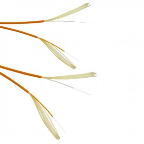 Bobina de fibra óptica 62.5/125 multimodo 3.0 mm duplex de 100 m