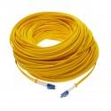 Cable de fibra óptica LC/PC a LC/PC monomodo duplex 9/125 de 50m OS2