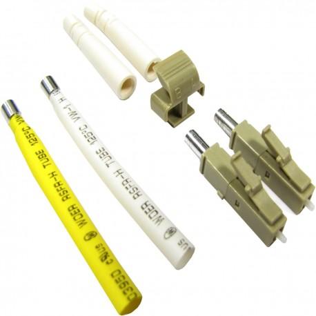 Conector de fibra óptica LC/PC multimodo 2,0 mm duplex