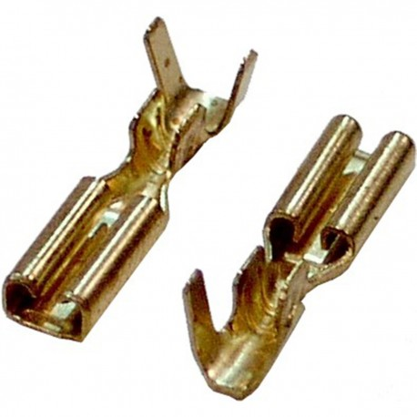 Terminal Faston Hembra (2.8mm) 100 Pack