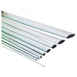 Tubo termoretráctil blanco de 2,4mm en bobina de 3m