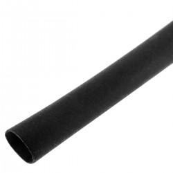 Tubo termoretráctil negro de 2,4mm en bobina de 3m