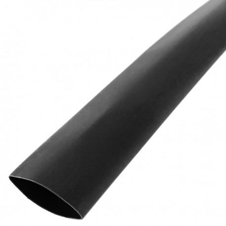 Tubo termoretráctil negro de 12,7mm en bobina de 3m