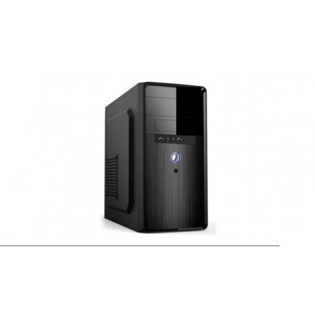 "Caja Micro ATX 1x5.25""+1x3.25""+ USB 3.0 x2 + fuente 500W negro"