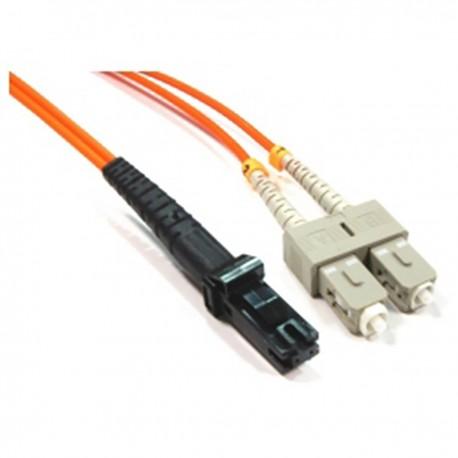 Cable de fibra óptica MTRJ a SC multimodo duplex 62.5/125 de 7 m