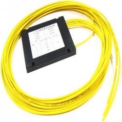 Separador de señal de fibra óptica de 1 a 4 dos ventanas 1310/1550nm